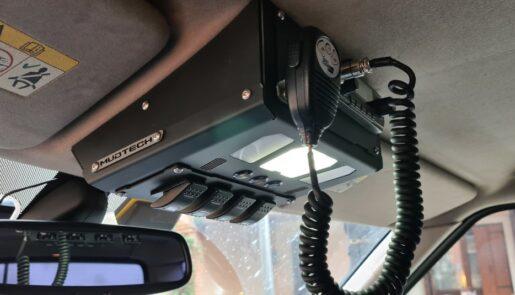 Porta CB da Tetto - Kit anteriore 2