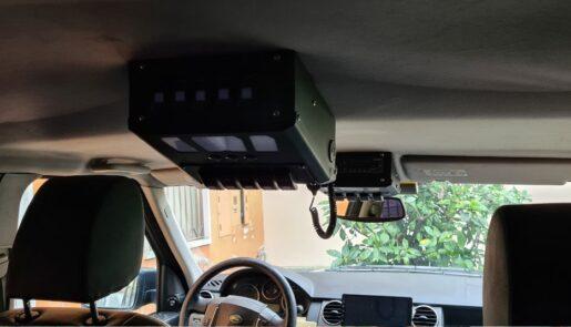 Porta CB da Tetto - Kit anteriore + posteriore 1